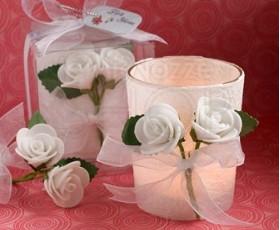 Portacandela rose