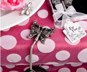 Portaborsa da tavola farfalla