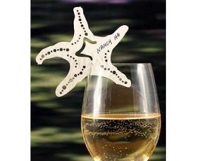 segnaposto bicchiere stella