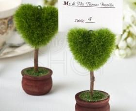 verde segnaposto cuore