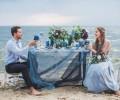 Matrimonio in blu: idee per gli allestimenti