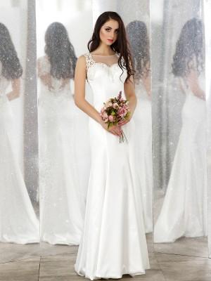 Abito da sposa e cerimonia scivolato Mod. Carla