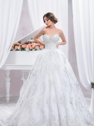 Abiti Da Sposa Principeschi.Abito Da Sposa Principesco Mod Cecilia Lemienozze Shop