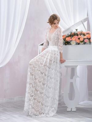 Abiti da sposa color argento
