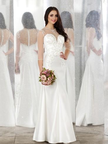 Abito da sposa e cerimonia scivolato Mod. Camilla
