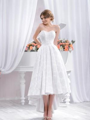 Abito da sposa e cerimonia corto Mod. Beatrice