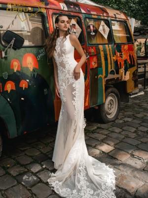 Abito da sposa a sirena Mod. Maria Agata