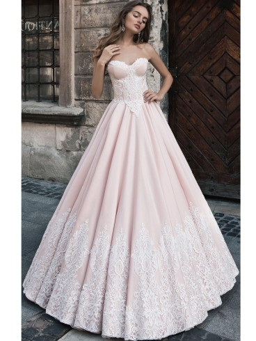 finest selection a161e ad3cd Abito da sposa principesco Mod. Alda