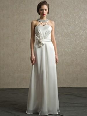Abito da sposa e cerimonia scivolato Mod. Diana