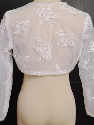Coprispalle per sposa Mod. Virginia