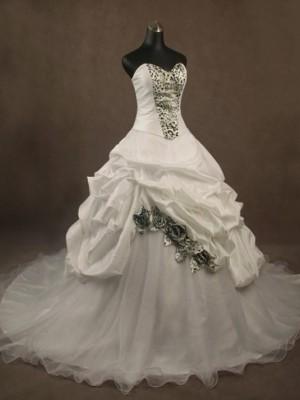 Abito da sposa principesco Mod. Maria Rosmunda