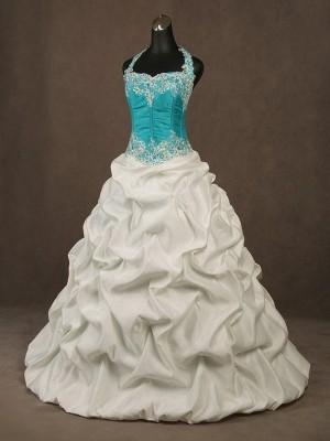 Abito da sposa e cerimonia principesco Mod. Maria Selvaggia